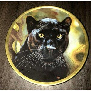 Collector Plate By Lenox 1993 Black Panther Big